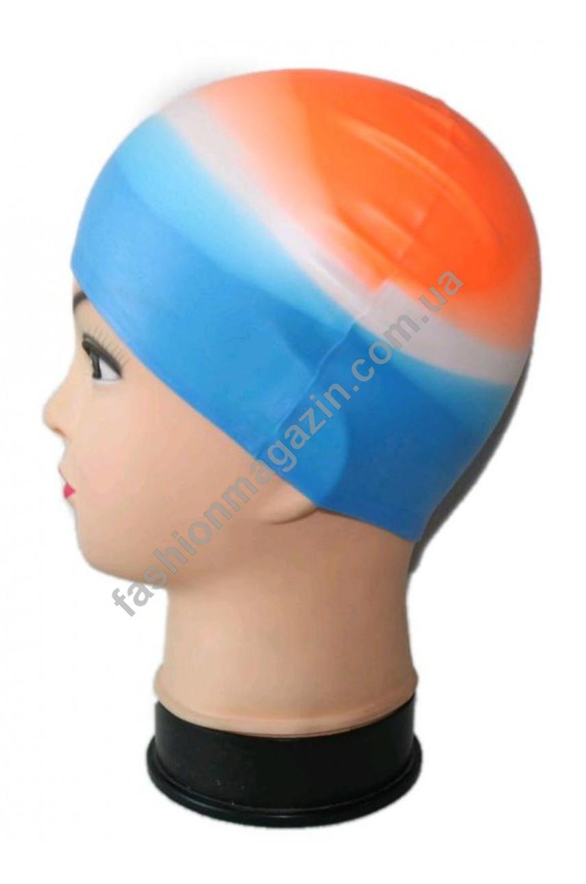 Радуга, шапочки для плавания