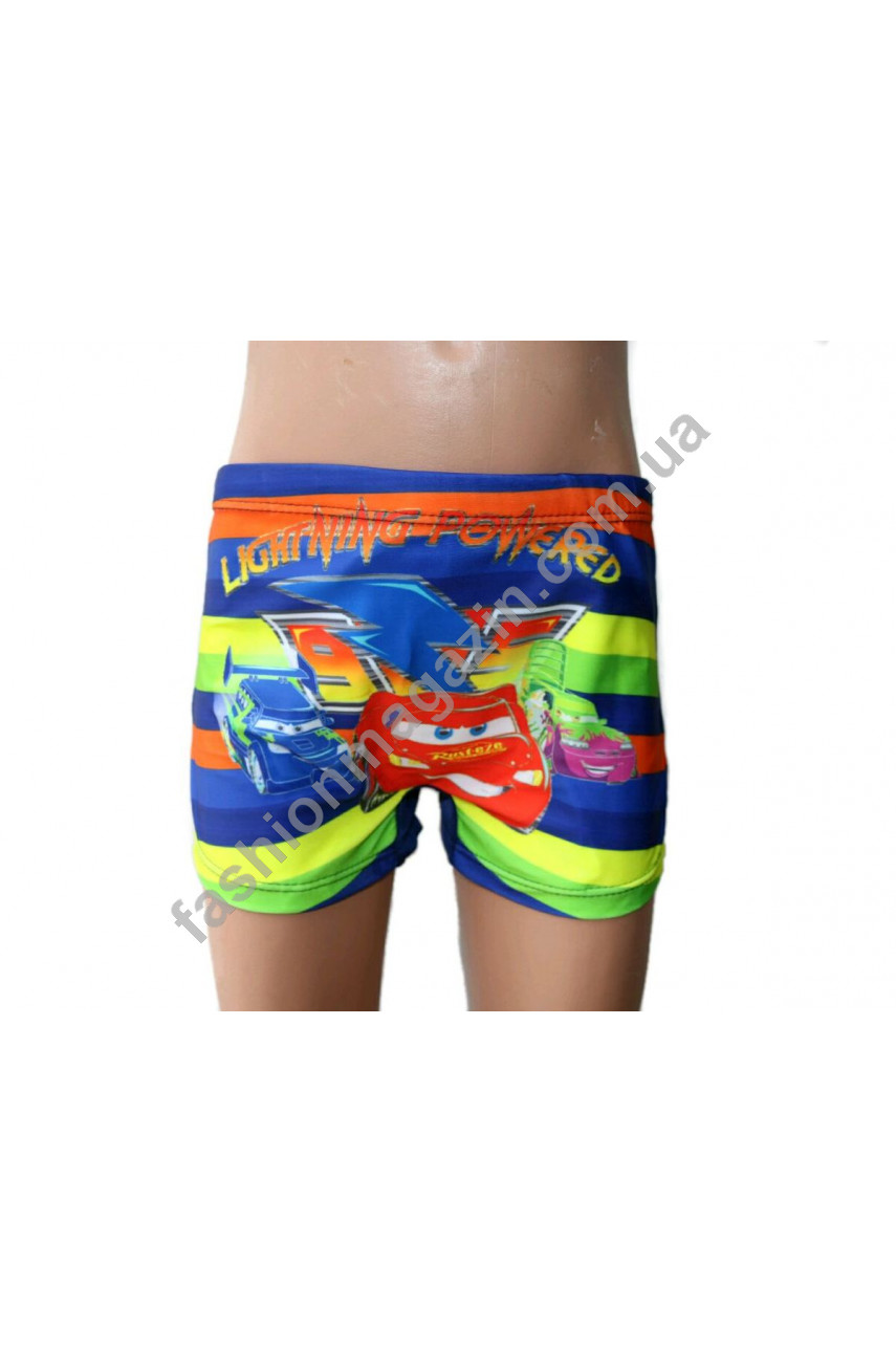 5203 плавки - шорты для мальчиков мультяшные