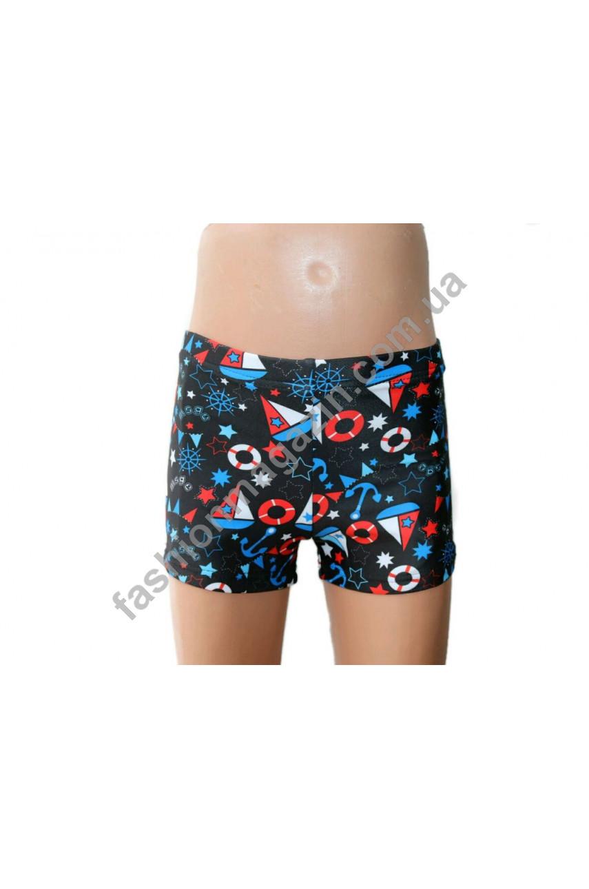 К 716 плавки - шорты для мальчиков мультяшные
